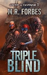 bargain ebooks Triple Blind Science Fiction by M.R. Forbes