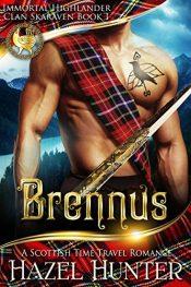 amazon bargain ebooks Brennus Time Travel Romance by Hazel Hunter
