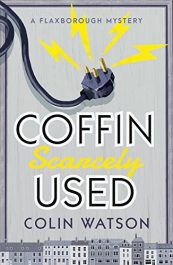 bargain ebooks Coffin, Scarcely Used Classic Historical Mystery by Colin Watson