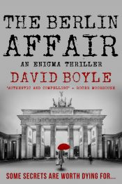 bargain ebooks The Berlin Affair Historical Thriller by David Boyle