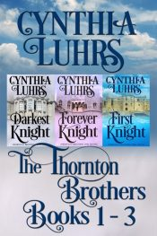 amazon bargain ebooks Thornton Brothers Medieval Time Travel Romance  Books 1-3 Romance by Cynthia Luhrs