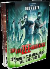bargain ebooks The Zee Brothers: Zombie Exterminators Box Set SciFi Action/Adventure by Grivante