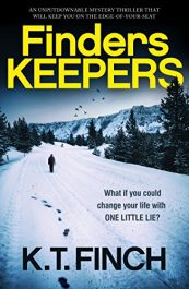 bargain ebooks Finders Keepers Thriller by K.T. Finch